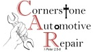 Cornerstone Automotive Logo with Verse